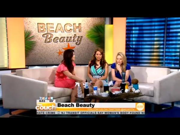 As Seen on CBS's The Couch   Beach Beauty DIY