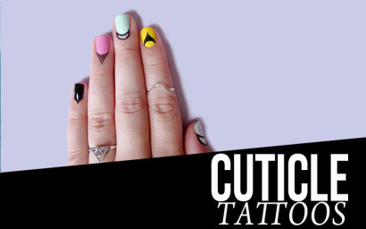 Tattoos for Your Dreaded Cuticles