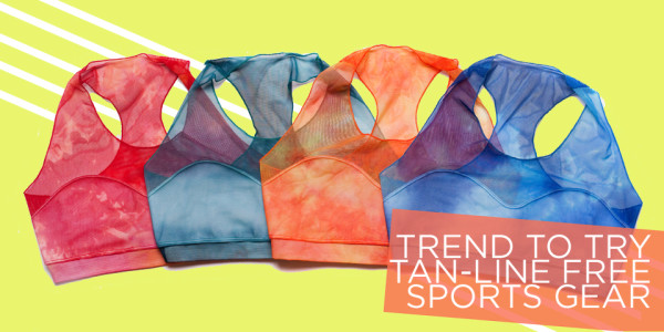 Functional Fashion: Tan Line-Free Sports Gear