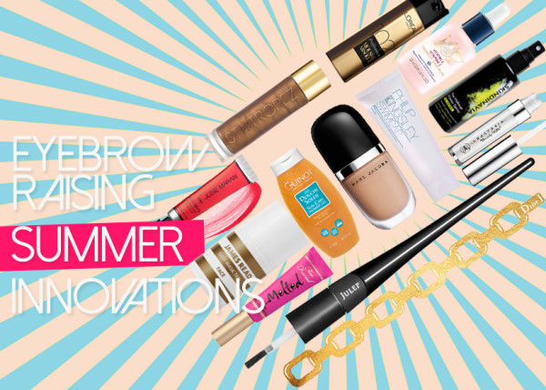 Eyebrow-Raising Summer Beauty Innovations
