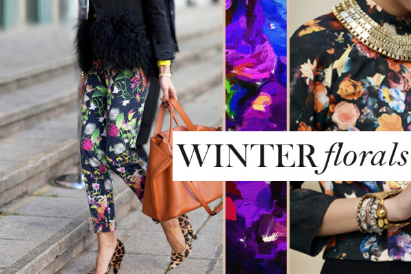 3 Easy Ways To Pair Winter Florals with Prints