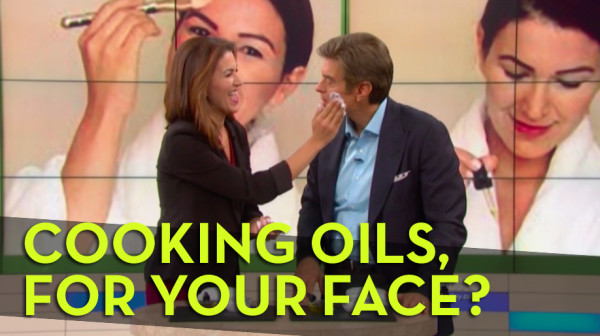 Cooking oils, for your face? We explore on the Dr. Oz Show!